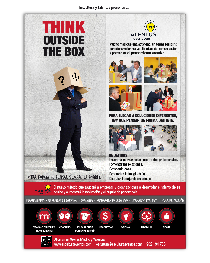 Think Outside The Box por Talentus Event