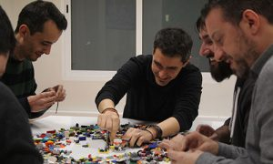 Lego Team Building empresa