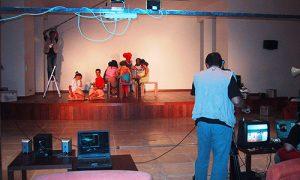 Filming Team Talentus Event
