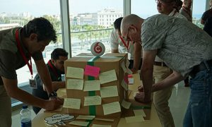 Think Outside the box team building
