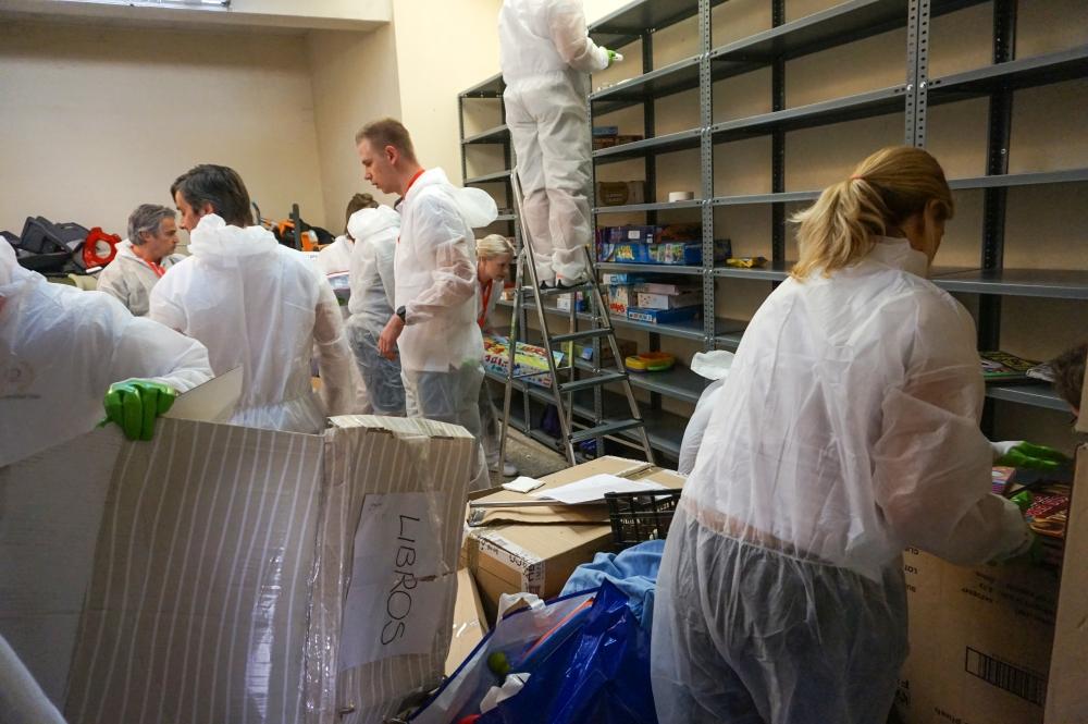 teambuilding solidario caso madrina trabajo